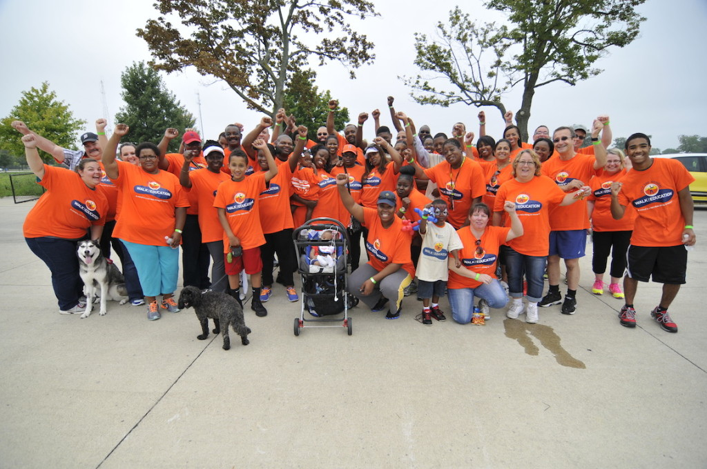High Quality Bridgewater Interiors And Johnson Controls Took Part In United Negro  College Fundu0027s 26th Annual 5K Walk For Education. Our Orange T Shirts Gave  Us Great ...