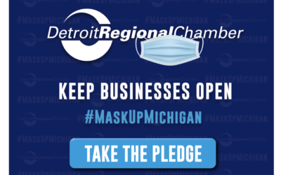 The #MaskUpMichigan Pledge: We're Taking The Pledge To Keep Our Employees Safe!