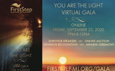 """Join Us For The Annual """"You Are The Light Gala"""" Presented By First Step"""
