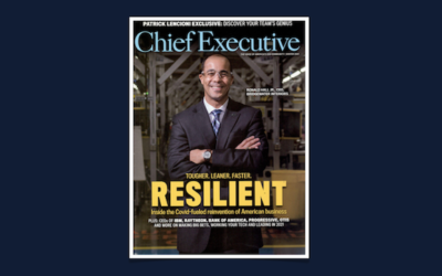 Resilience 2021: Bridgewater CEO Featured In Chief Executive Magazine Round-Up